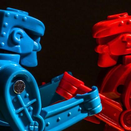 Cabeza azul, cabeza roja: El arte de manejar la presión